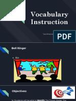 Vocabulary Instruction .pptx