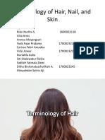 Terminologi Rambut, Kuku-1