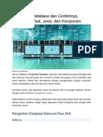 Pengertian Database dan Contohnya.docx