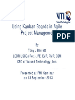 Using Kanban Boards in Agile Project Management