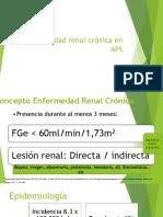 Enfermedad Renal crónica APS