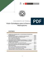 Vision Machupicchu 2016 DDC Cusco