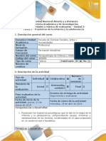 Guía de actividades y rúbrica de evaluación - Unidad 2- Tarea 2 - Trastornos de la infancia y la adolescencia.pdf