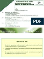 Tema 5. Eliminacion de Particulas Por Metodos Mecanicos