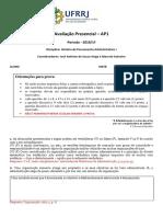 AP1_História do Pensamento Administrativo I_2019.1.Gabarito