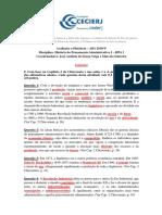 Gabarito Da Atividade II Da AD1 - 2019 1º
