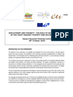 OSE+BPEU Conference Employment+Poverty Recommendations En