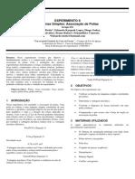 Relatório 8 Associação de Polias - Lab Fisica
