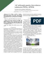 Inversor con modulacion PWM