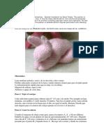 Bunny Pattern Spanish Version
