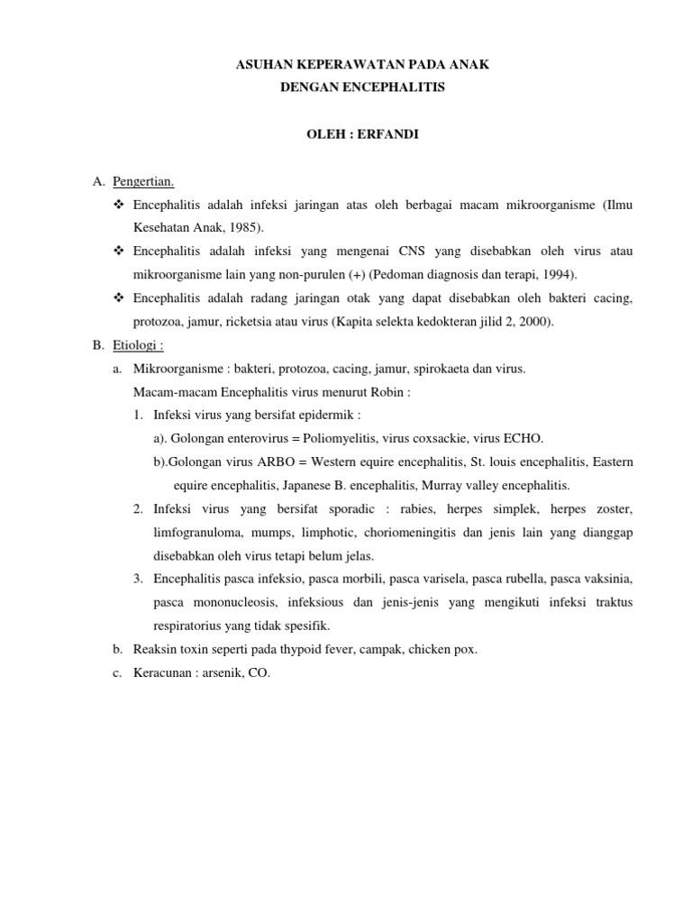 B005 Encephalitis