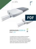 Especificaciones Técnicas -  XCEED-VE 1-10V