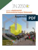 VISION 2050 DEIS Appendices