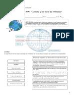 Guía Nº5 La Tierra y Sus Líneas de Referencia