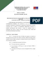 Edital Matriculas - Casas de Cultura - 2019