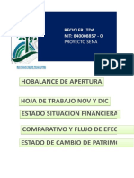 Copia de Proyecto Recicler Ltda