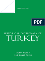 Historical Dictionary of Turkey.pdf