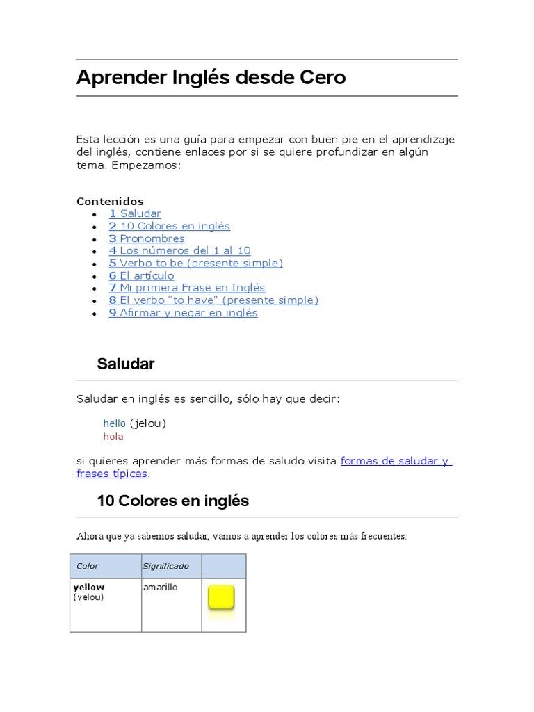 Aprender-Ingles-Desde-Cero.doc | Adverbio | Oración (Lingüística)