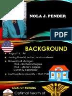 Nola Pender