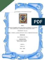 REGLAMENTO DE LA GESTIÓN DEL SISTEMA EDUCATIVO - DS N° 009-2005-ED (Análisis e Interpretación)