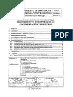 Procedimiento de Control de Documentos y Registros