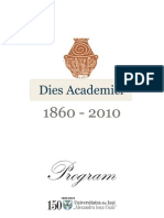 Program Jubileu 150 Ani Universitatea Cuza Iasi