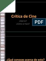 Clase 2 Critica de Cine Ppt