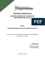 FACTORES DE ÉXITO Y FRACASO EN LA ADMINISTRACION DE RECURSOS HUMANOS.docx