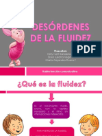 DESÓRDENES DE LA FLUIDEZ