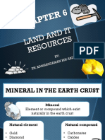 Land and It Resources