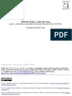 LIMA, Eronides da Silva. Mal de Fome e não de raça - Gênese, constituição e ação política da educação alimentar – Brasil, 1934-1946.pdf