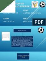 Diapositivas Reglas de Futbol