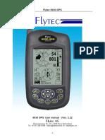 Manual 5030 Flytec 5030