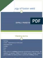1.Metallurgy of Weld
