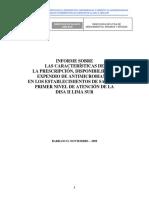 Estudio Prescripcion Indicacion 2009 Disa