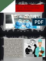 Atención de Enfermería Durante El Periodo Pre Operatorio