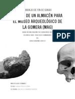 Diseno de Un Almacen Para El Museo Arqueologico de La Gomera