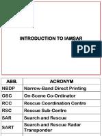 Topic 1 Introduction of Iamsar