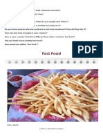 Fast Food speaking.docx