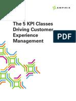 Empirix 5 Kpi Classes Driving Cx Management