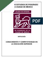 ANTOLOGÍA CONOCIMIENTO Y COMPETITIVIDAD EN LA EDUCACIÓN SUPERIOR.pdf