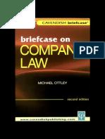 Briefcase on Company Law Briefcase Series