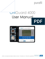 Onguard 4000 User Manual