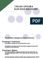 Hubungan Antara Pendidikan Dan Ekonomi