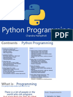 Python for Architects 1