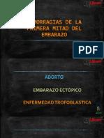 Hemorragias Del Primertrimestre - Alexander Intriago Perez