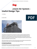 plant air system