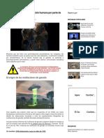 Horribles Pruebas de Mutilación Humana Por Parte de Extraterrestres - C.1040(1)