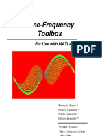 Time-Frequency Toolbox GNU Tutorial