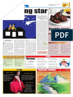 The Gloabal Times Junior mosiac page April 1 edition